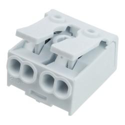 Lüsterklemme 2-polig mit Hebel 450V VDE