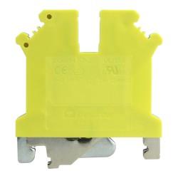 Schutzleiter-Reihenklemme 2.5mm2 gelb-grün VDE UL DGN 3398