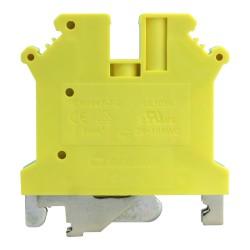 Schutzleiter-Reihenklemme 4mm2 gelb-grün VDE UL DGN 3404