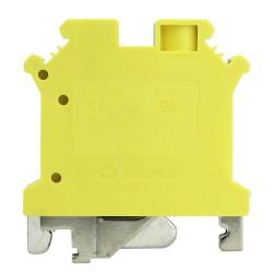 Schutzleiter-Reihenklemme 6mm2 gelb-grün VDE UL DGN 3411
