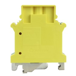 Schutzleiter-Reihenklemme 16mm2 gelb-grün Erdungsklemme VDE UL 3435