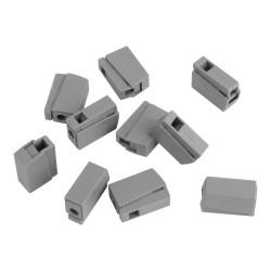 10 Stück Leuchtenklemmen 0,2-2,5mm2 VDE UL