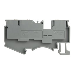 Reihenklemme 2.5mm2 3 Leiter Durchgangsklemme 1P Grau UL 3923