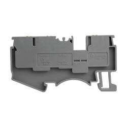 Reihenklemme 4mm2 3 Leiter Durchgangsklemme 1P Grau 3930