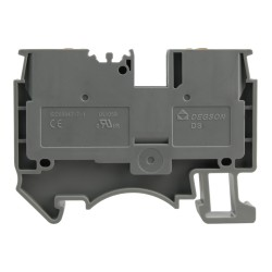 Reihenklemme 1.5mm2 Durchgangsklemme Grau UL 3794