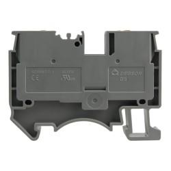 Reihenklemme 4mm2 Durchgangsklemme Grau UL 3817