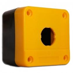 Drucktaster gelb