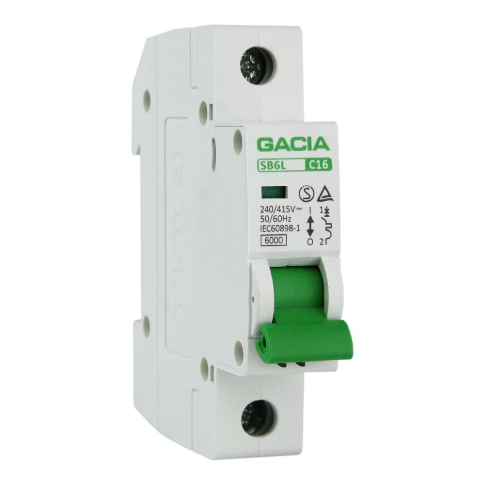 /_ Leitungsschutzschalter LSS Automat Sicherung B6 6A Ampere 1polig SdfkPlakette