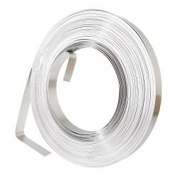 Edelstahl Band 0,6 x 9,5mm 30m V2A Metall Streifen