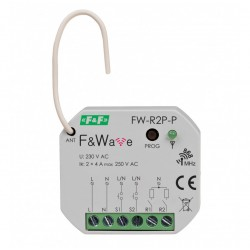 Bistabiles Relais FW-R2P-P Multifunktionales 2-kanal F&Wave 0935