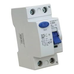Fehlerstromschutzschalter 2P 25A 30mA Typ A FI-Schalter Doktorvolt 5033
