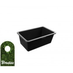 Gebäudeeimer Kalfas 60l PVC BRADAS 0316