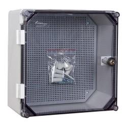 Schaltschrank mit Schloss UNI-0/T 300x300 x160 mm Verteilerschrank Industriegehäuse Leergehäuse Schaltkasten 5894