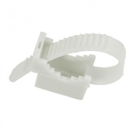 Kabelbinder/Halter UP22, Weiß, 12.1