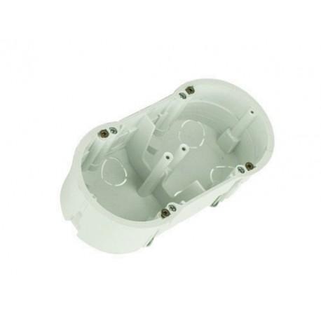 Schalterdose Unterputzdose für den Trockenbau 60mm PKw-2 doppel, 13.70