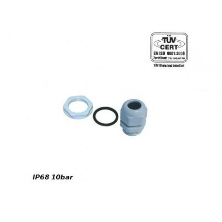 PG16 Kabelverschraubung IP68 10bar Grau PROFI