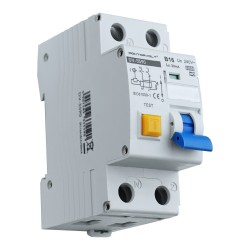 FI/LS Schalter RCBO B16A 2P 30mA 6kA Typ A FI-Schalter LS-Schalter Doktorvolt