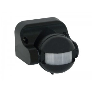 Infrarot-Bewegungsmelder CR-1 schwarz 180° Außen Bewegungsschalter CR-1