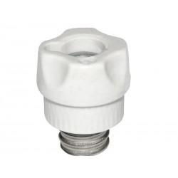 Schraubkappe 16A Sockel D01 E14 Porzellan (GB) 2222