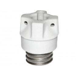 Schraubkappe 63A Sockel D02 E18 Porzellan
