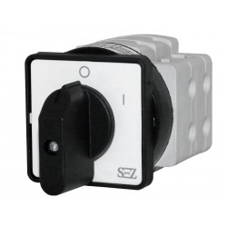 Nockenschalter Umschalter 32A 0-1 3-polig Drehschalter Wendeschalter mit Griff S32 JD 1103 A6 SEZ