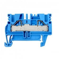Durchgangs-Reihenklemmen blau PDU 2.5/4 BL 52x5.1x38mm 4qmm 30A Blau Durchgangsklemme 1896230000 Weidmüller 1358
