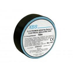 XBS Isolierband schwarz PVC 0,13mm x 19mm 10m Klebeband SZ10/B 9116