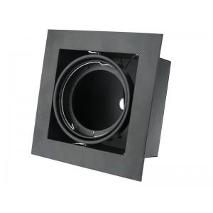 GTV Einbauleuchte PIREO I schwarz unterputz OP-PIREO1-20 8287