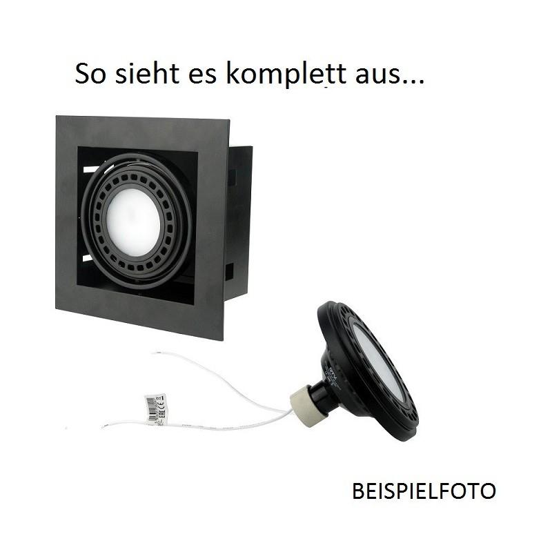 GTV Einbauleuchte Deckenleuchte Deckenlampe PIREO I schwarz UP OP-PIREO1-20 8287