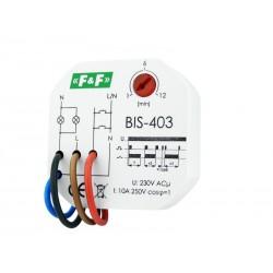 Bistabile Relais mit Zeitschalter F&F BIS-403 Timer 4086