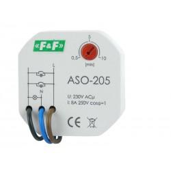 Treppenlichtzeitschalter Treppenhausautomat Treppenlicht Zeitschaltrelais Zeitrelais ASO-205 F&F 6233