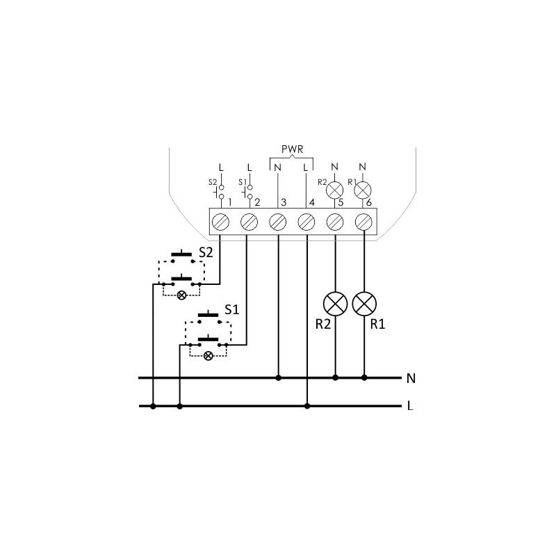 Bistabile Relais mit 2 unabhängig steuerbare schaltkreise F&F