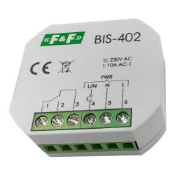 Bistabile Relais mit Zeitschalter F&F BIS-402 Timer 4062 F&F