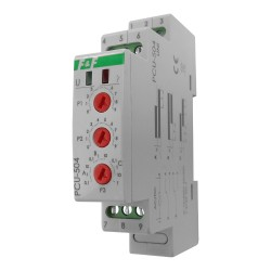 Zeitrelais mit Energie Aufrechterhaltung nach dem Stromausfall Multifunktionsrelais Wächter PCU-504UNI F&F 8503