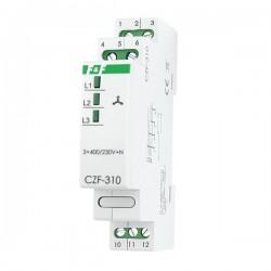 Netzüberwachung Phasenwächter Phase Monitor Phasenüberwachung Phasenausfall  CZF-310 F&F 3126