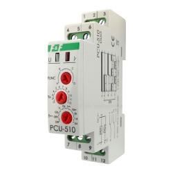 Zeitrelais Multifunktionsrelais Heizung Signalisierung Time Relay  Relais PCU-510 DUO F&F 5403