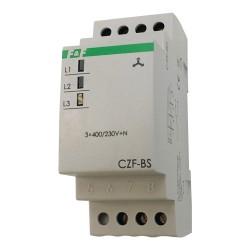 Netzüberwachung Relais Phasenwächter Spannung Phasenüberwachung CZF-BS F&F 3102