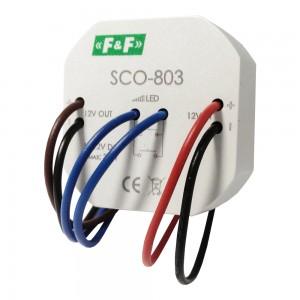 Lichtdimmer für LED Beleuchtung 12V Einbaudimmer Dimmschalter Dimmer Tastdimmer SCO-803 F&F