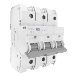 SEZ Leitungsschutzschalter C 80A 3p 10kA C80A Sicherungsautomat Sicherung 6557