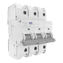 Leitungsschutzschalter C125A 3-Polig 10kA Sicherung Automat LS-Schalter SEZ 6571