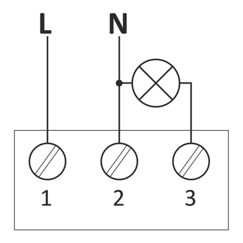 Dämmerungsschalter mit Internen Licht Sensor Dämmerungssensor AWZ F&F