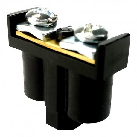5 Stk. Doppelklemme Dosenklemmen Klemmen 2x1-4mm2 schwarz