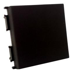 Blindblende Modul Blende 2M Verschlusskappe schwarz TM22SB TM22SB-U TEM PD12 Einsatz 8733 / 3330 / 3323