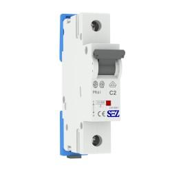 SEZ Leitungsschutzschalter C 2A 1p 10kA VDE C2A Sicherungsautomat Sicherung 1026