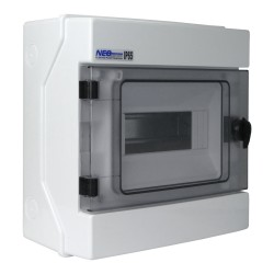 Feuchtraumverteiler Kleinverteiler Verteilerkasten RH 8 IP65 AP 8Module 36.8 VDE E-P 4026