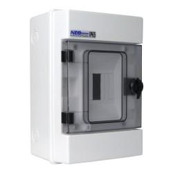Feuchtraumverteiler Kleinverteiler Verteilerkasten RH4 AP 4Module 36.04 IP65 VDE E-P 4422