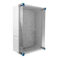 Leergehäuse mit transparentem Deckel Anschlussdose  450x300x170 IP65 Industriegehäuse Abzweigdose K0300 HENSEL 6554