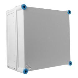 Leergehäuse mit graue Deckel Anschlussdose  300x300x170 IP65 Industriegehäuse Abzweigdose K0201 HENSEL 6547