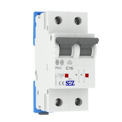 Leitungsschutzschalter C16A 2-Polig 10kA VDE Sicherung Automat LS-Schalter SEZ 1415