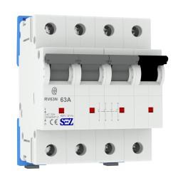 SEZ Hauptschalter 63A 4p Schalter Leistungstrenner 3p+N (RV63) 5598